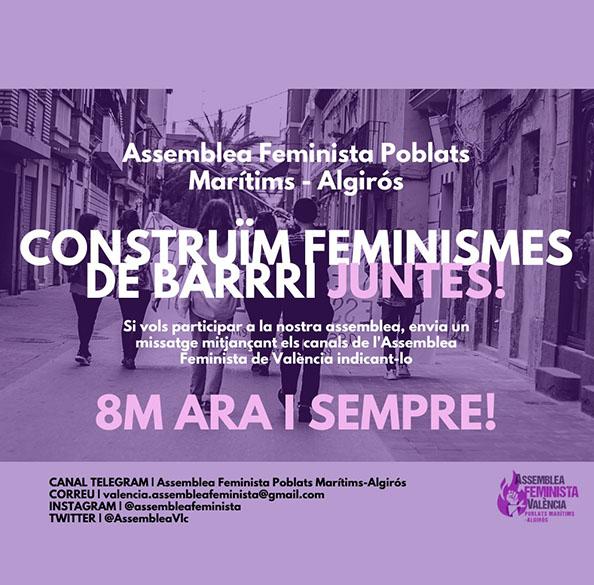 ASSAMBLEA FEMINISTA POBLADOS MARÍTIMOS
