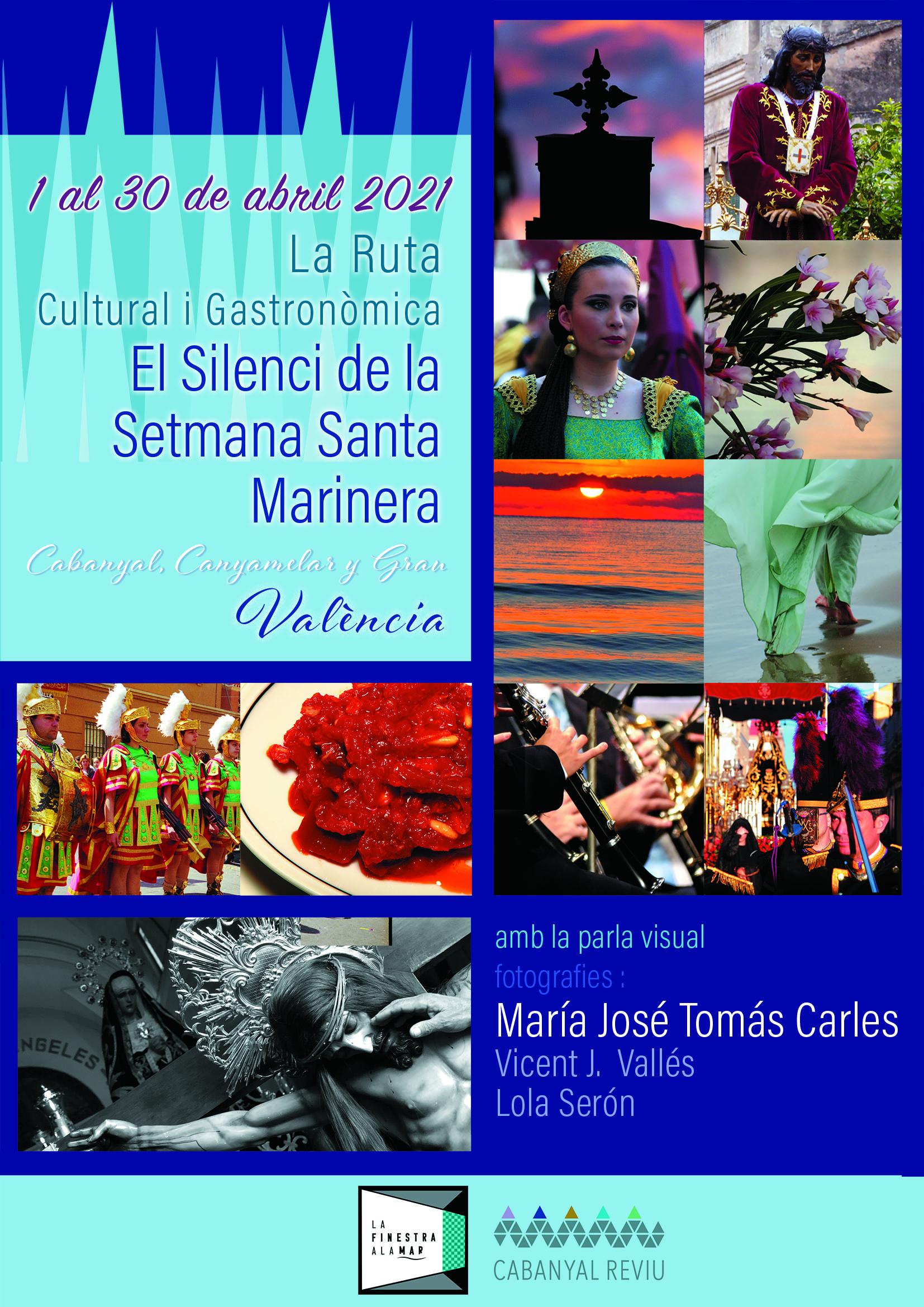 cartel el silenci de la setmana Santa Marinera
